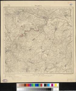 Meßtischblatt 3122 : Blankenburg / Schwarzatal, 1905