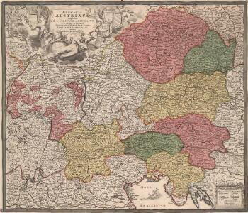 Germania Austriaca complectens S. R. I. Circulum Austriacum ut et reliquas in Germania Augustissimae Domui Austr. devotas Terras Haereditarias