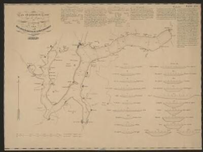 Carta delle profondità del Ceresio o lago di Lugano