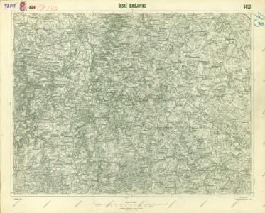 III. vojenské mapování 4453