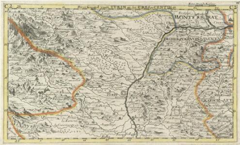 Die Gegend von Turin bis Crescentin.