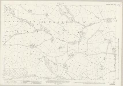 Derbyshire XXIV.8 (includes: Brampton; Walton) - 25 Inch Map