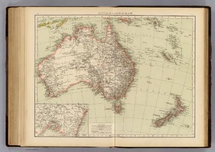Australia, New Zealand.