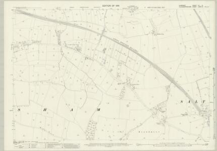 Somerset VII.14 (includes: Bitton; Keynsham) - 25 Inch Map