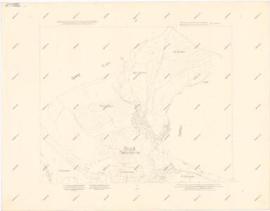 Katastrální mapa obce Nebřeziny WK-ZS-VII-18 df