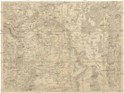 Kriegs Theater der teutschen und franzoesischen Graenz Landen zwischen dem Rhein und der Mosel, im Jahr 1794