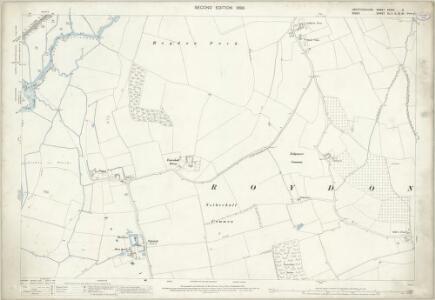 Hertfordshire XXXVII.6 (includes: Hoddesdon; Roydon; Stanstead Abbots) - 25 Inch Map