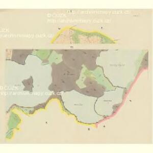 Drahles - c1503-1-006 - Kaiserpflichtexemplar der Landkarten des stabilen Katasters