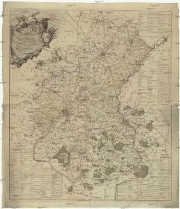 Carte du diocese de Tournay