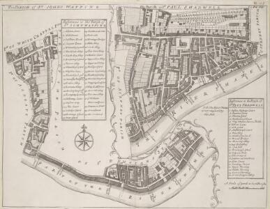 THE PARISH of ST. JOHNS WAPPING. The Parish of ST. PAUL SHADWELL