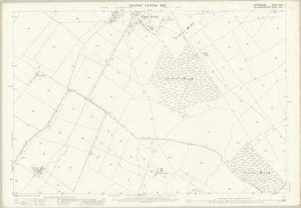 Oxfordshire XXVIII.7 (includes: Arncott; Boarstall; Fencott and Murcott; Piddington) - 25 Inch Map