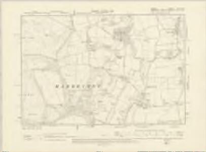 Dorset XVII.SW - OS Six-Inch Map