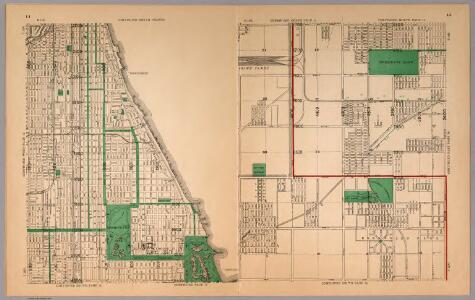 Map of Chicago with new street changes