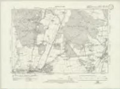 Hampshire & Isle of Wight LXXVI.NE - OS Six-Inch Map