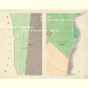 Göding (Hodonin) - m0741-1-007 - Kaiserpflichtexemplar der Landkarten des stabilen Katasters