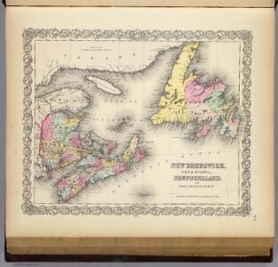 New Brunswick, Nova Scotia, Newfoundland, and Prince Edward Id.