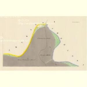 Piwana (Pywowan) - c5853-1-001 - Kaiserpflichtexemplar der Landkarten des stabilen Katasters