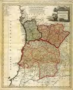 Regni Portugalliae provincias tres septentrionales Beiram, Transmontanam [et] Interamniam