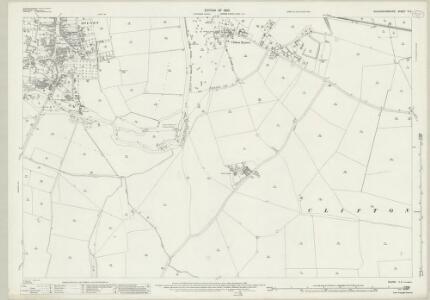 Buckinghamshire V.3 (includes: Clifton Reynes; Emberton; Olney) - 25 Inch Map