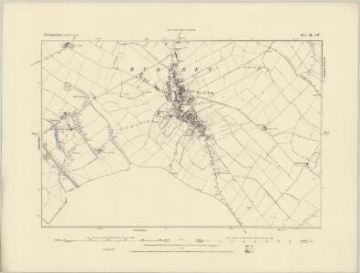 Northamptonshire XXXIX.NW - OS Six-Inch Map