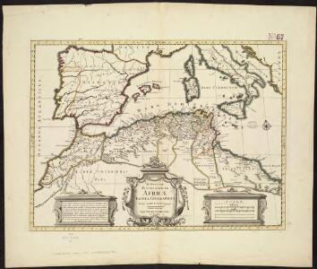 In notitiam ecclesiasticam Africæ tabula geographica