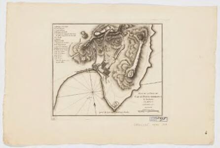 Plan de la ville du Cap de Bonne Esperance et environs
