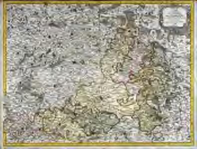 Carte de la province de Champagne