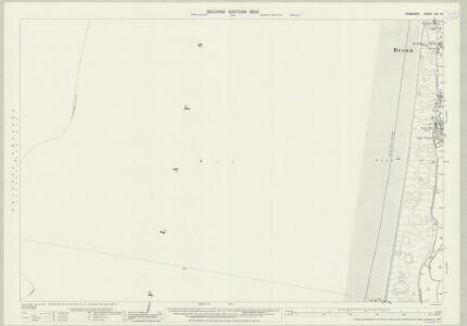 Somerset XVI.14 (includes: Berrow; Brean) - 25 Inch Map