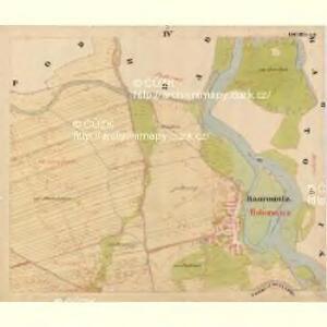 Baurowitz - c0079-1-004 - Kaiserpflichtexemplar der Landkarten des stabilen Katasters