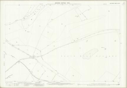 Wiltshire XLV.14 (includes: Bishopstrow; Bratton; Edington; Warminster) - 25 Inch Map