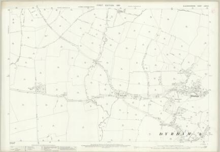 Gloucestershire LXXIII.6 (includes: Dodington; Doynton; Dyrham and Hinton; Westerleigh) - 25 Inch Map