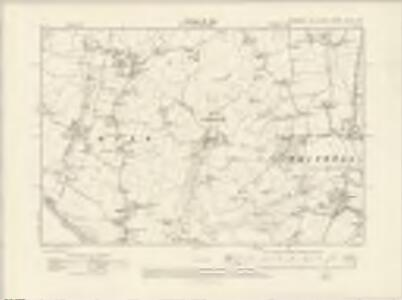 Hampshire & Isle of Wight XCVIII.SW - OS Six-Inch Map