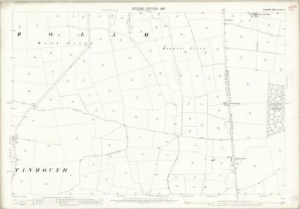 Durham XLVIII.6 (includes: Bolam; Denton; Houghton Le Side; Killerby; Morton Tinmouth; Summerhouse) - 25 Inch Map