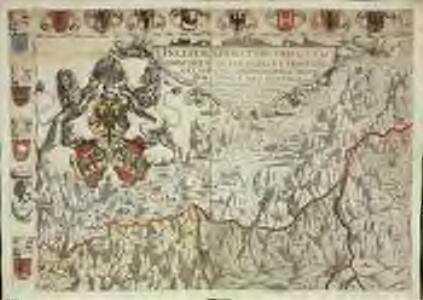 Inclitae Bernatum urbis, cum omni ditionis suae agro et provinciis delineatio chorographica, 1/2