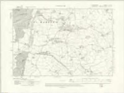 Denbighshire XL.SE - OS Six-Inch Map