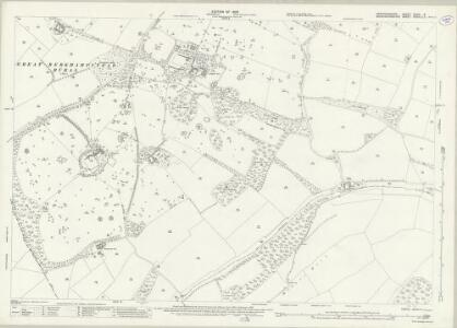 Hertfordshire XXXIII.9 (includes: Ashley Green; Berkhampstead Urban; Northchurch) - 25 Inch Map