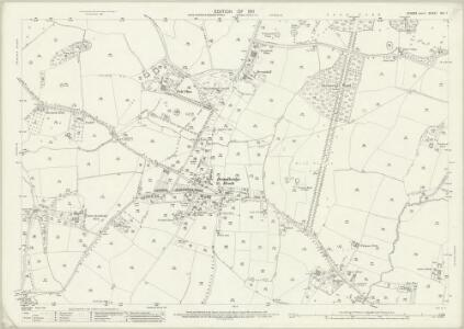 Sussex XIII.7 (includes: Horsham Rural; Slinfold; Warnham) - 25 Inch Map