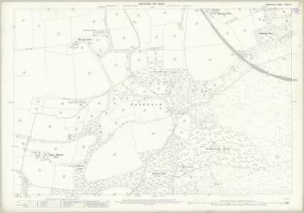 Hampshire and Isle of Wight LXXVIII.4 (includes: Ringwood) - 25 Inch Map
