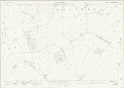 Essex (New Series 1913-) n XXXV.11 (includes: Bradwell; Cressing; Kelvedon; Witham) - 25 Inch Map