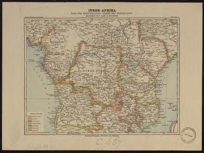 Inner Afrika. nach dem gegenwartigen stande der erforschung