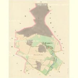Minařowitz - c4760-1-002 - Kaiserpflichtexemplar der Landkarten des stabilen Katasters