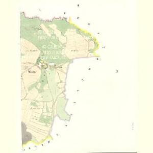 Witten (Witen) - c8618-1-002 - Kaiserpflichtexemplar der Landkarten des stabilen Katasters