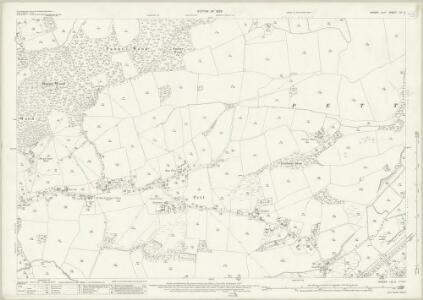 Sussex LIX.5 (includes: Fairlight; Pett) - 25 Inch Map
