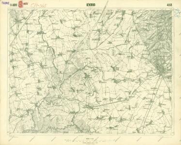 III. vojenské mapování 4568