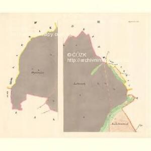 Wesselitzko - m3364-1-003 - Kaiserpflichtexemplar der Landkarten des stabilen Katasters