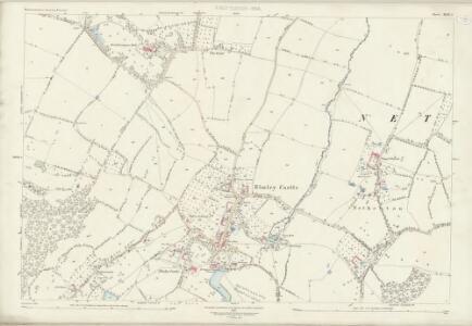 Worcestershire XLIX.5 (includes: Bricklehampton; Elmley Castle; Little Comberton; Netherton) - 25 Inch Map