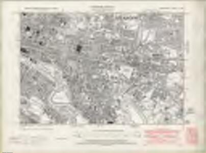 Lanarkshire Sheet VI.SE - OS 6 Inch map