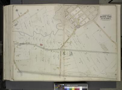 Queens, Vol. 2, Double Page Plate No. 48; Part of     Ward Two Newtown; [Map bounded by Court St., Marlowe Ave., Romolus St., Otis     Ave., Rehan PL.; Including North Hempstead Plank Road, Astoria Road, Hoffman     Boulevard, Remsen St. (North Hempst