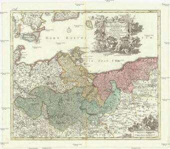Tabula marchionatus Brandenburgici et ducatus Pomeraniae quae sunt pars septentrionalis circuli Saxoniae superioris