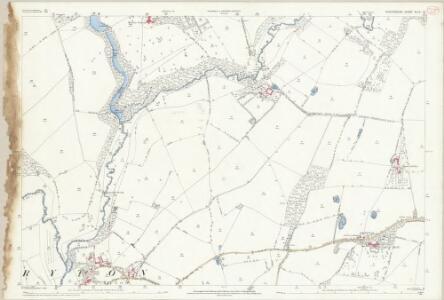Shropshire XLIV.14 (includes: Beckbury; Ryton; Shifnal) - 25 Inch Map